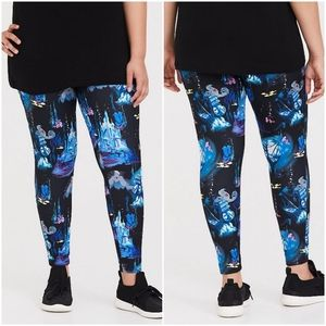 Disney Little Mermaid Ursula Print Leggings